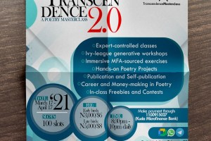 Transcendence: A Poetry Masterclass 2.0