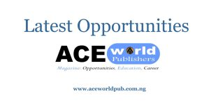 Latest Opportunities/ACEworld Publishers