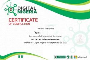 2021 FG-Digital Nigeria Free Digital & Entrepreneurial Training For Nigerians
