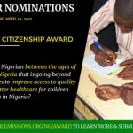 Active Citizenship in Nigeria Award (ACNA) 2021