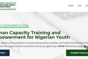 Human Capacity Training and Empowerment for Nigerian Youth 2021