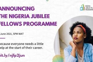Federal Government of Nigeria/UNDP Jubilee Fellowship Program 2021
