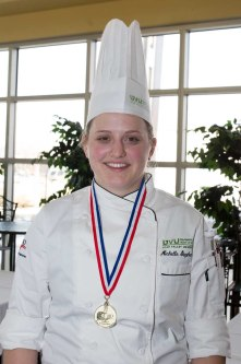 Michelle Stephenson - ACF Western Region Student Chef of the Year