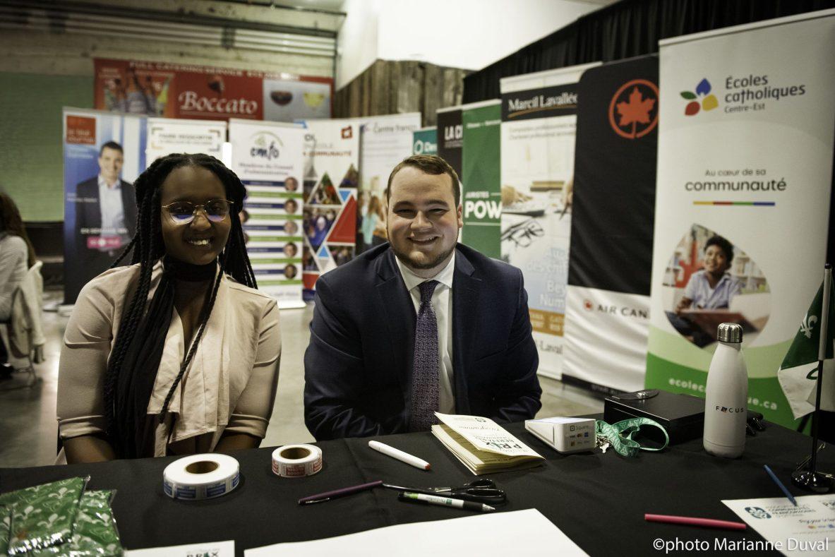 Table de l'ACFO Ottawa au Gala des Prix Bernard Grandmaître