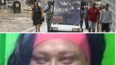 Photo of Corpo de costureira obrigada a pular de ônibus por criminosos no RJ  é enterrado em clima de revolta