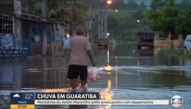 Photo of CHUVAS  PREOCUPAM MORADORES DE GUARATIBA!! CRIVELLA PROMETEU E NADA