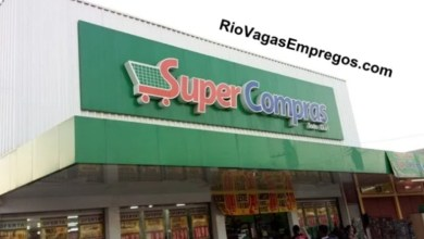 Photo of SUPER COMPRAS VAGAS PARA REPOSITOR, AUXILIAR DE SERVIÇOS GERAIS, CAIXA, PADEIRO, FISCAL FRENTE DE LOJA – R$ 1.150,00 – COM E SEM EXPERIENCIA – RIO DE JANEIRO 28/03/2020
