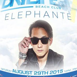 #ELEPHANTE LIVE! 8/29 #Daylife Beachclub Open 12 - 7PM - Free Admission! Visit ACGuestlist.com