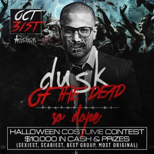 10/31 Atlantic City's Biggest Halloween Party! DuSk Caesars - $10,000 in Cash and Prizes! GET ON THE LIST - Sexiest, Best Group, Scariest, Funniest, Most Original- DJ SoDope. Visit: http://ACGuestList.com/dusk-halloween-2015/ for Free Admission!