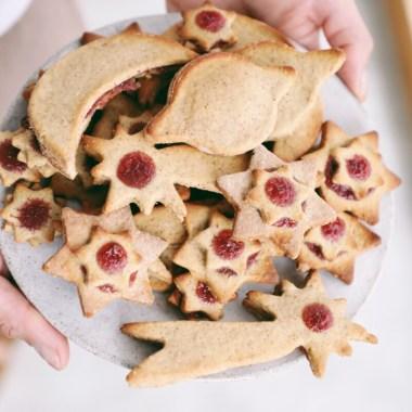 Paleo Plätzchen – Laktosefrei, Glutenfrei und zuckerarm. Ideal für Menschen mit Morbus Crohn oder CED.