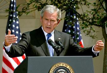 Bushacknowledges
