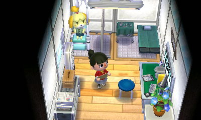 Image of: Waiting Room The Hospital Was Quite Large Project As Players Will Have To Design Three Rooms The Reception Area 1st Image The Doctors Room 2nd Image Animal Crossing Happy Home Designer Wordpresscom Design Gallery Animal Crossing Happy Home Designer