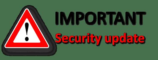 Achasta Security Update