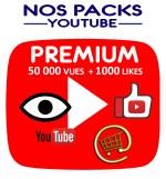 Notre pack premium associe les vues et les likes youtube pour une meilleure efficacité