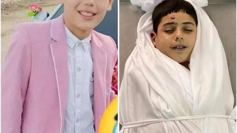 صورة الطفل الفلسطيني الشهيد حمزة نصار تلهب مواقع التواصل الاجتماعي