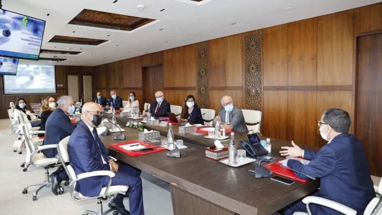 رئيس الحكومة يستقبل الفيدرالية المغربية لصناعة الأدوية والابتكار الصيدلي