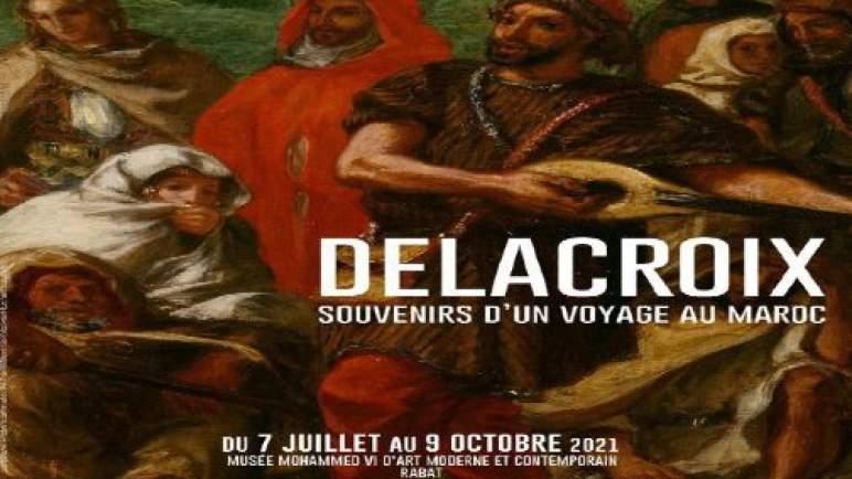 """الرباط تحتضن معرض """"دولاكروا، ذكريات رحلة إلى المغرب""""، الأول من نوعه على مستوى القارة الإفريقية والعالم العربي"""