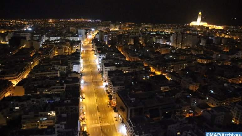الدار البيضاء: الهدوء ليلا الذي يسبق حركة الحياة