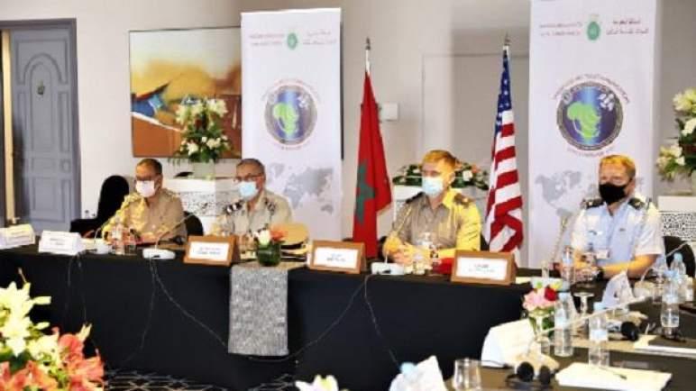 """القوات المسلحة الملكية والقيادة الأمريكية في إفريقيا تنظمان بالمغرب ندوة """"Africa Endeavor 2021"""""""