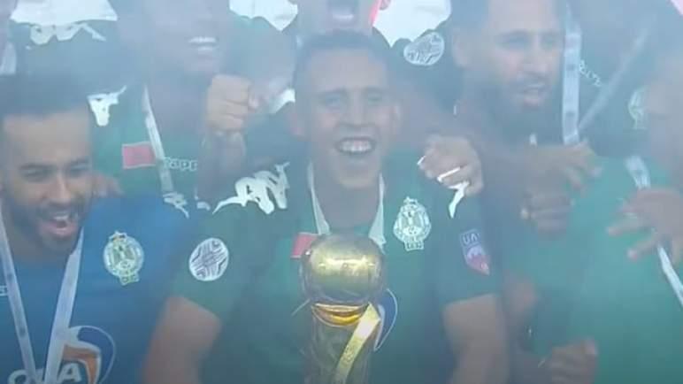 الرجاء يتوج بلقب كأس محمد السادس للأندية العربية الأبطال