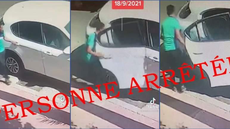 تطور جديد في قضية فيديو الاستيلاء على حقيبة امرأة من داخل سيارتها بتمارة