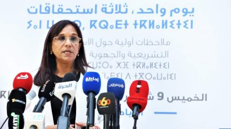 انتخابات 8 شتنبر.. الملاحظات التي استقاها المجلس الوطني لحقوق الإنسان لا تمس بشكل عام بمؤشرات الشفافية