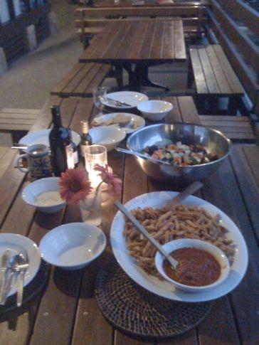 Dinner Family-Style