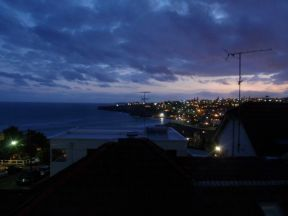 View At Dusk From My Room