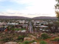 Alice Springs From Above