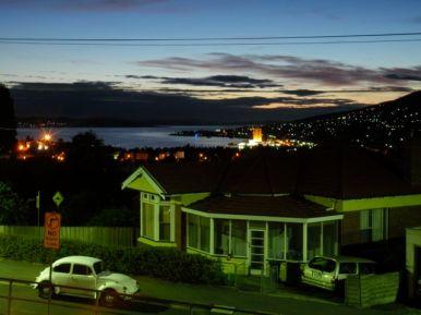 Dawn Over Hobart