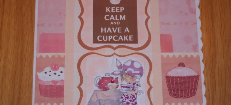 Keep calm and eat a cupcake.