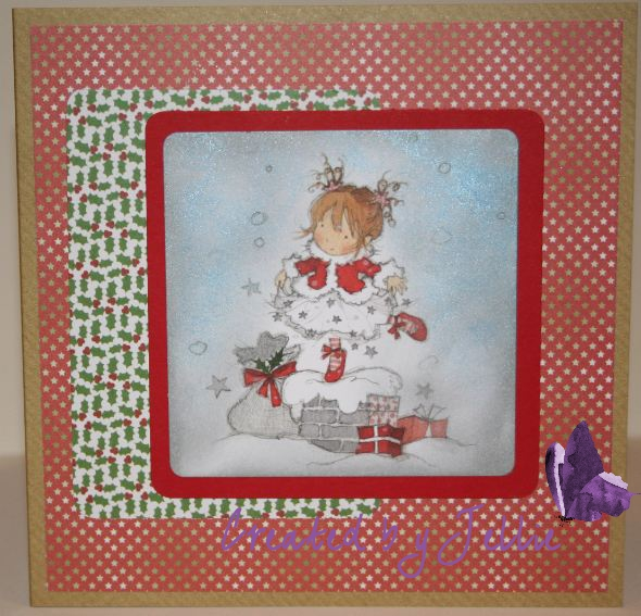 i used brilliance dew drop pigment ink to ink the die cut backgrounds i decorated the inside of the cards as well so even more piccies - Cheap Christmas Cards In Bulk