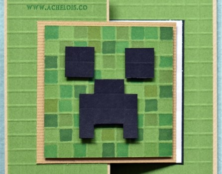Minecraft card- new layout and new style