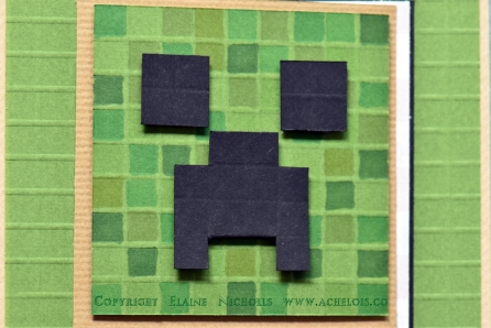Creative loops minecraft card