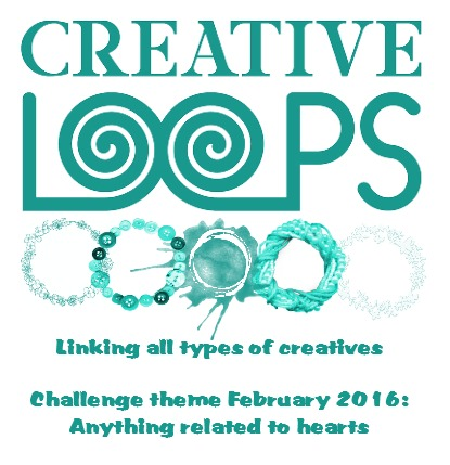 Creative loops challenge hearts valentine love