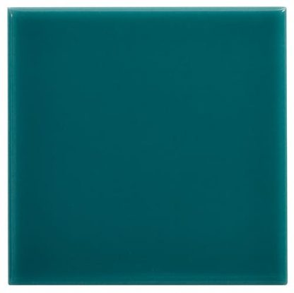 carrelage mural 15 x 15 lisse brillant couleur turquoise
