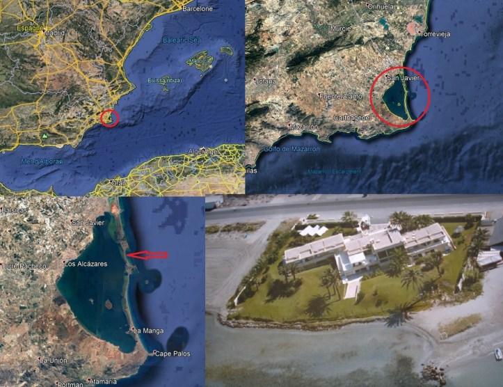 Map Manga del Mar Menor Acheter en Espagne
