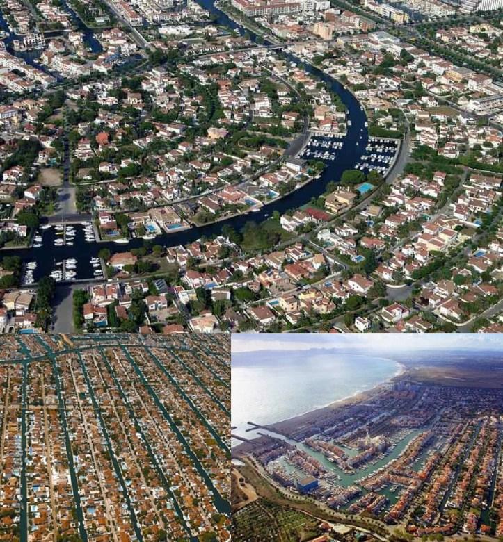 Empuriabrava vue aérienne acheter en espagne immobilier