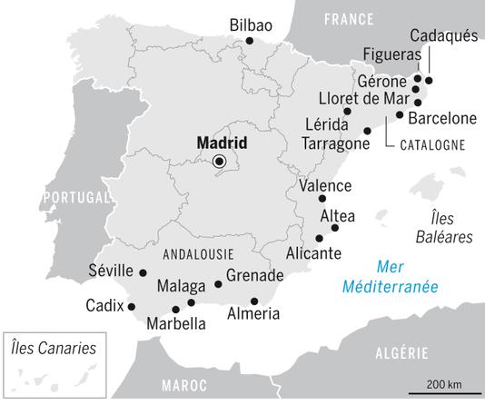 Infographie Le Monde Espagne