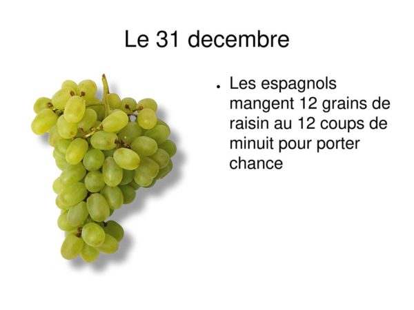 Fetes raisins noel acheter immobilier Espagne