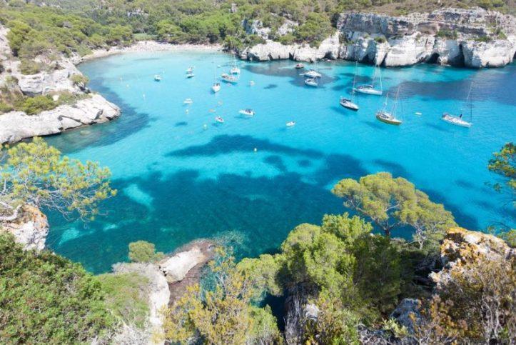 Cala Macarella - Minorque - Baléares plages acheter immobilier Espagne