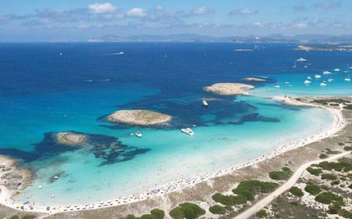 Playa de Ses Illetes - Formentera - Îles Baléares plages acheter immobilier Espagne