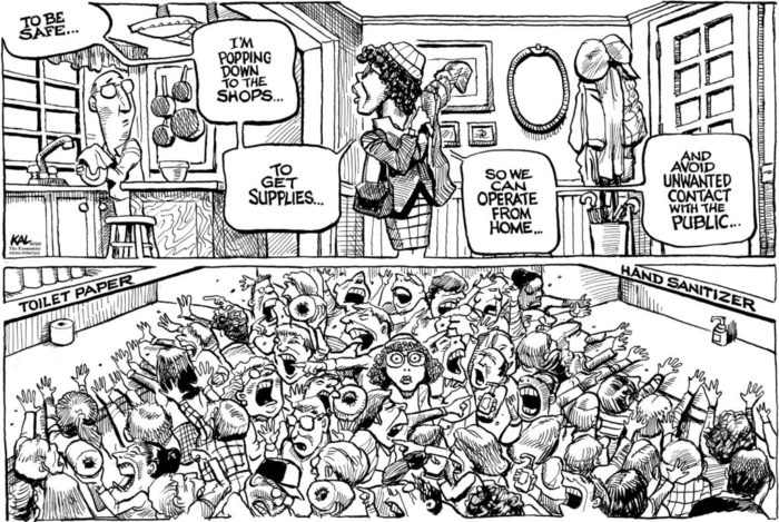 Coronavirus Covid dessins blagues rire sourire acheter immobilier espagne 33