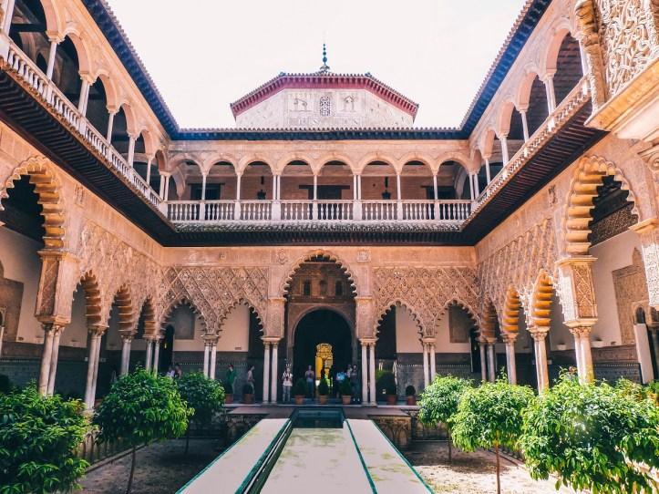 Alcazar de Séville Andalousie architecture acheter immobilier en Espagne 3
