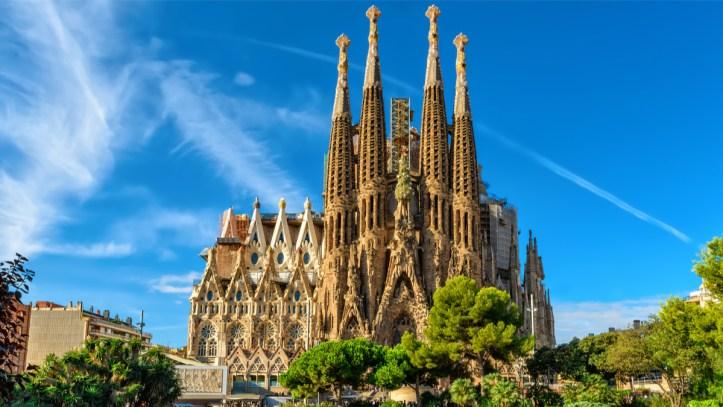 sagrada familia Barcelone architecture acheter immobilier en Espagne 1