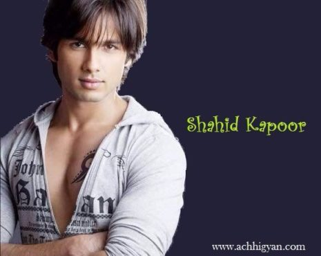 Shahid Kapoor Biography In Hindi
