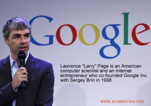 Larry Page Biography In Hindi