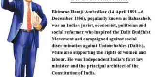 Dr B.R Ambedkar Biography In Hindi, डा. भीम राव अंबेडकर की जीवनी