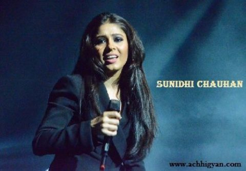 Biography Of Sunidhi Chauhan In Hindi Language,