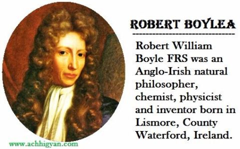 वैज्ञानिक रॉबर्ट बॉयल की जीवनी | Robert Boyle Biography In Hindi